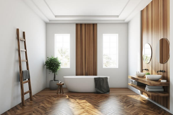 Les fenêtres de salle de bains
