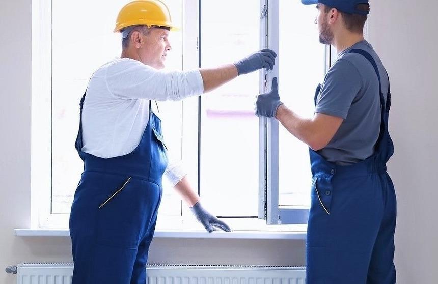 Austausch eines PVC-Fensters