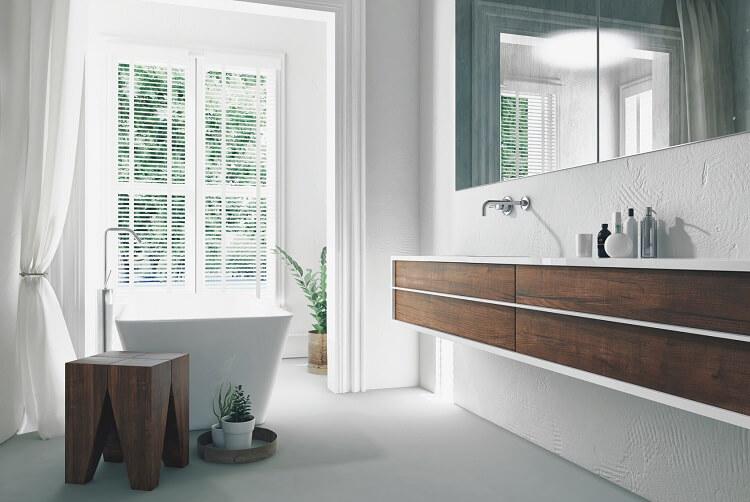 Fenster im Badezimmer