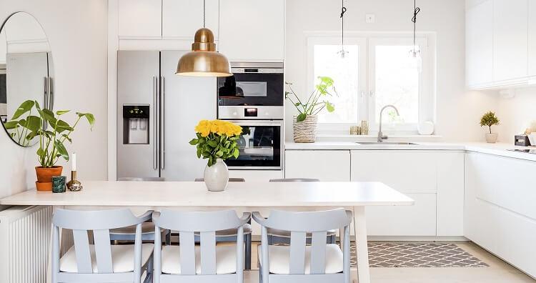 Küchenfenster sorgen für thermischen Komfort