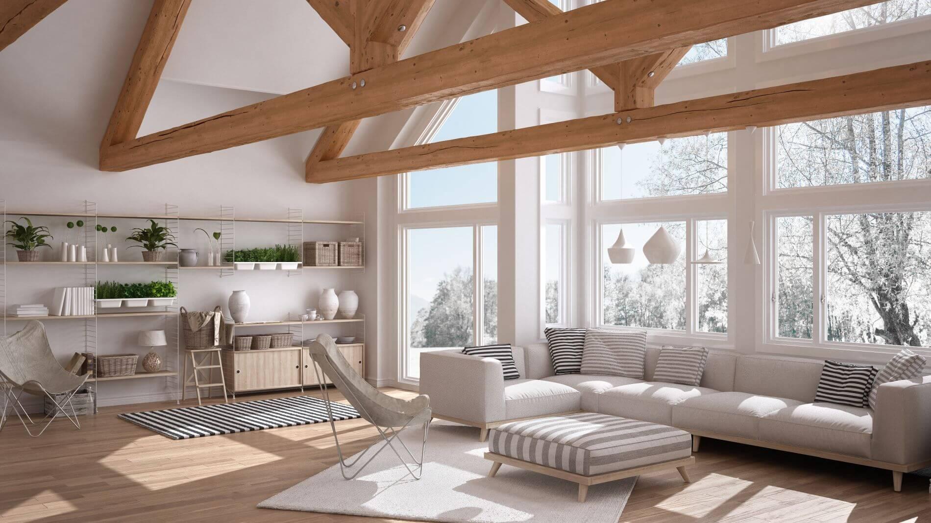 Finestre progettato per le case passive